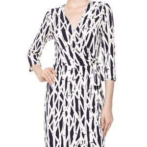 Laundry By Design | Bamboo Print Wrap Dress S
